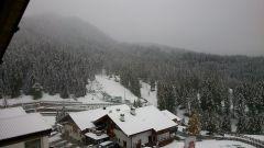 1 Tag Schneepause in Obereggen/Südtirol.....man war das kalt