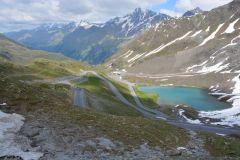 Abfahrt vom Kaunertaler Gletscher