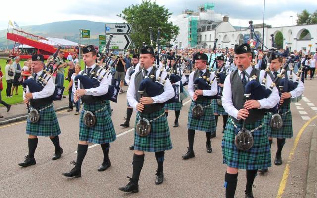 Kapelle zu den Highland Games