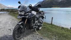 Tigerli vor Lac de Mont Cenis
