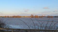 Hochwasser Niederrhein Januar 2018