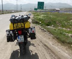 Kurz nach der Grenze im Iran
